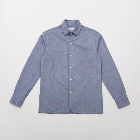 Lobby Shirt - Blue Chambray