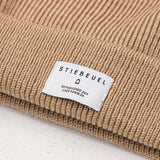 Stiebeuel Logo Beanie - Brown - Front Label | AStore