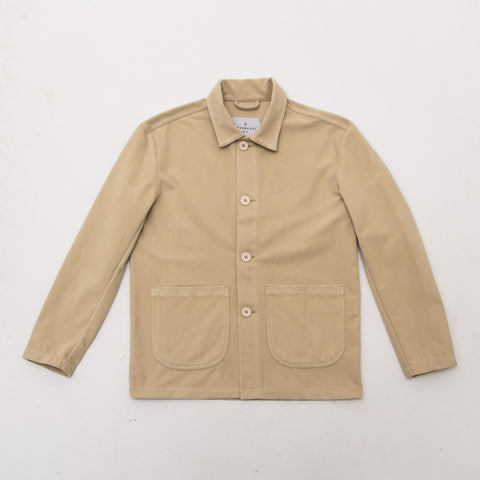 S Work Jacket - Cream