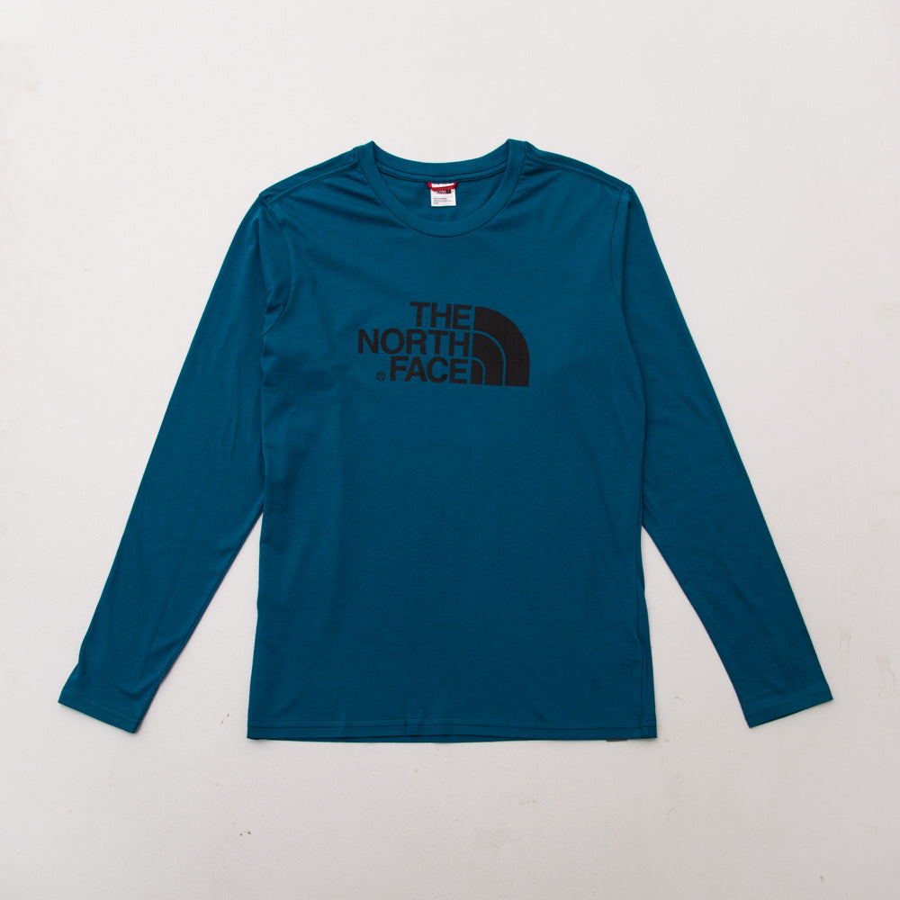 Easy LS Tee - Blue Coral - A Store