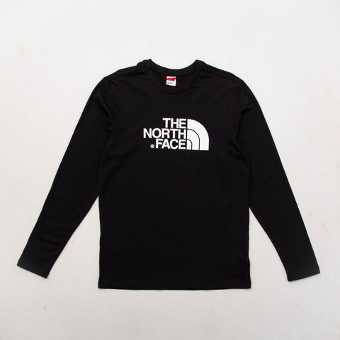Easy LS Tee - Black - A Store