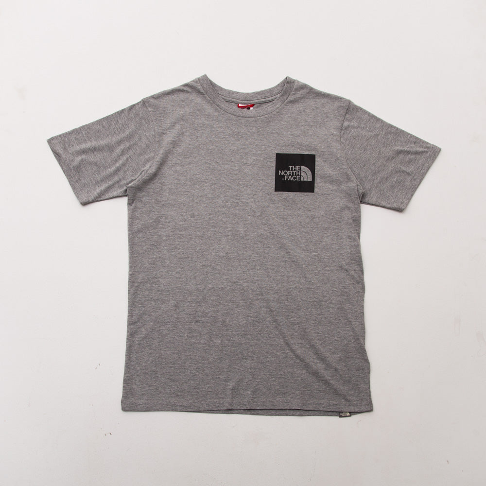 Fine Tee - Grey Heather - A Store