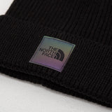 TNF Logo Box Cuffed Beanie - Black / Multi