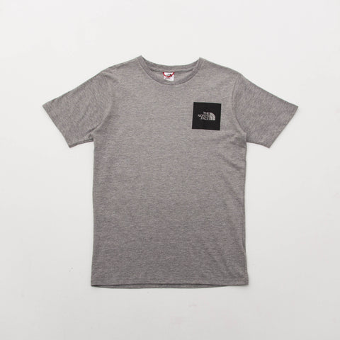 M SS Fine Tee - Grey Heather