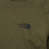 The North Face Simple Dome Long Sleeve Tee - Green - Chest Logo | A Store