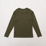 The North Face Simple Dome Long Sleeve Tee - Green - Back | A Store