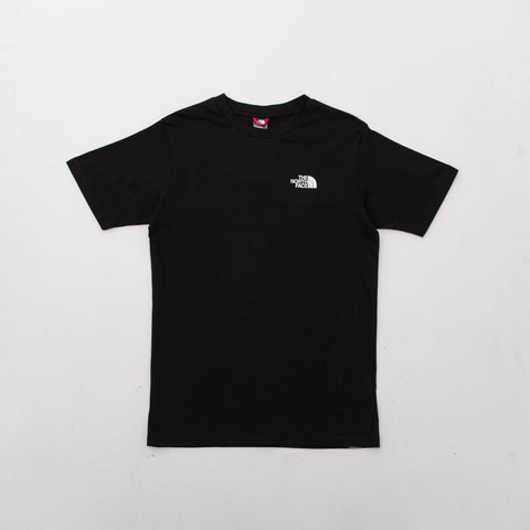 The North Face Simple Dome Tee - Black - Front | AStore