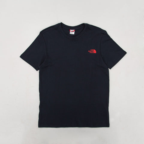 Simple Dome Tee - Navy / Red