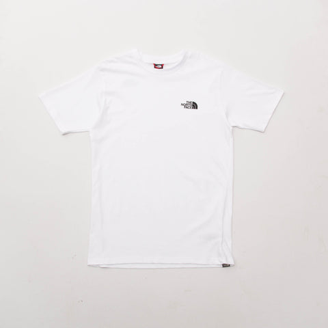 The North Face Simple Dome Tee - White - Front | AStore