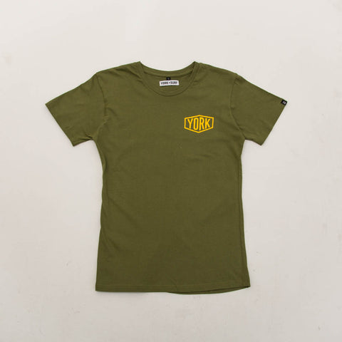York Badge Tee - Green