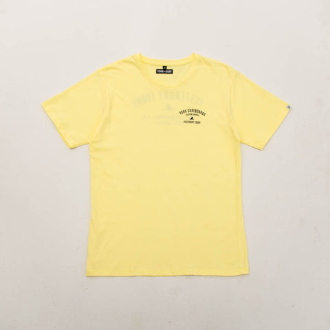 York Customs Shapes Tee - Yellow