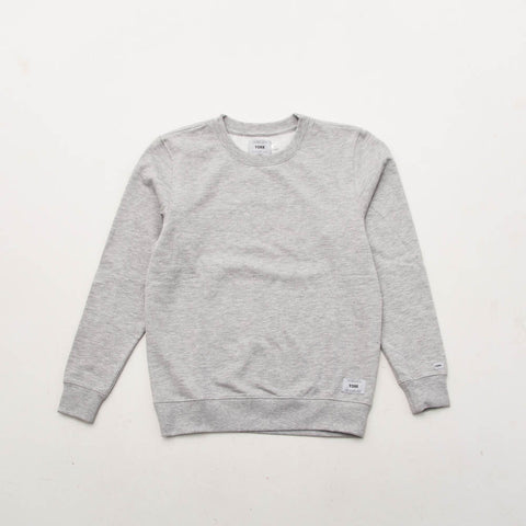 York Plain Crew Sweater - Grey