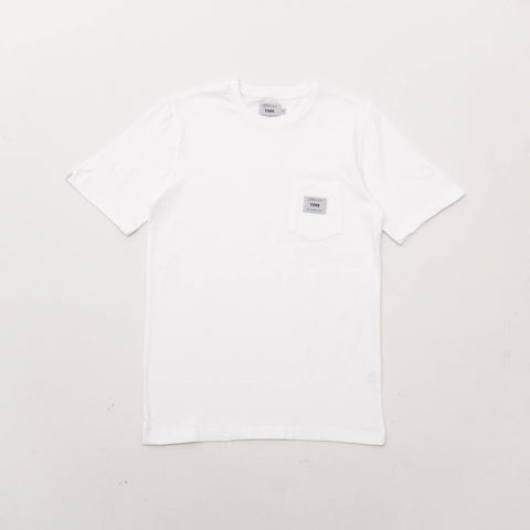 York Pocket Tee - White
