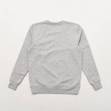 York Printed Crew Sweater - Grey