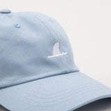 York Surf Shark Fin Cap - Light Blue - Detail | AStore