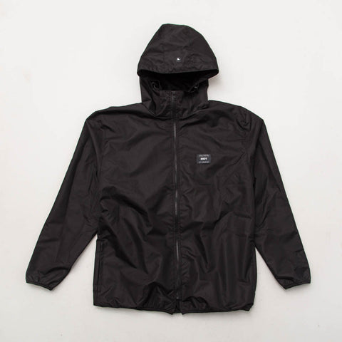 York Wind Jacket - Black with Black Label