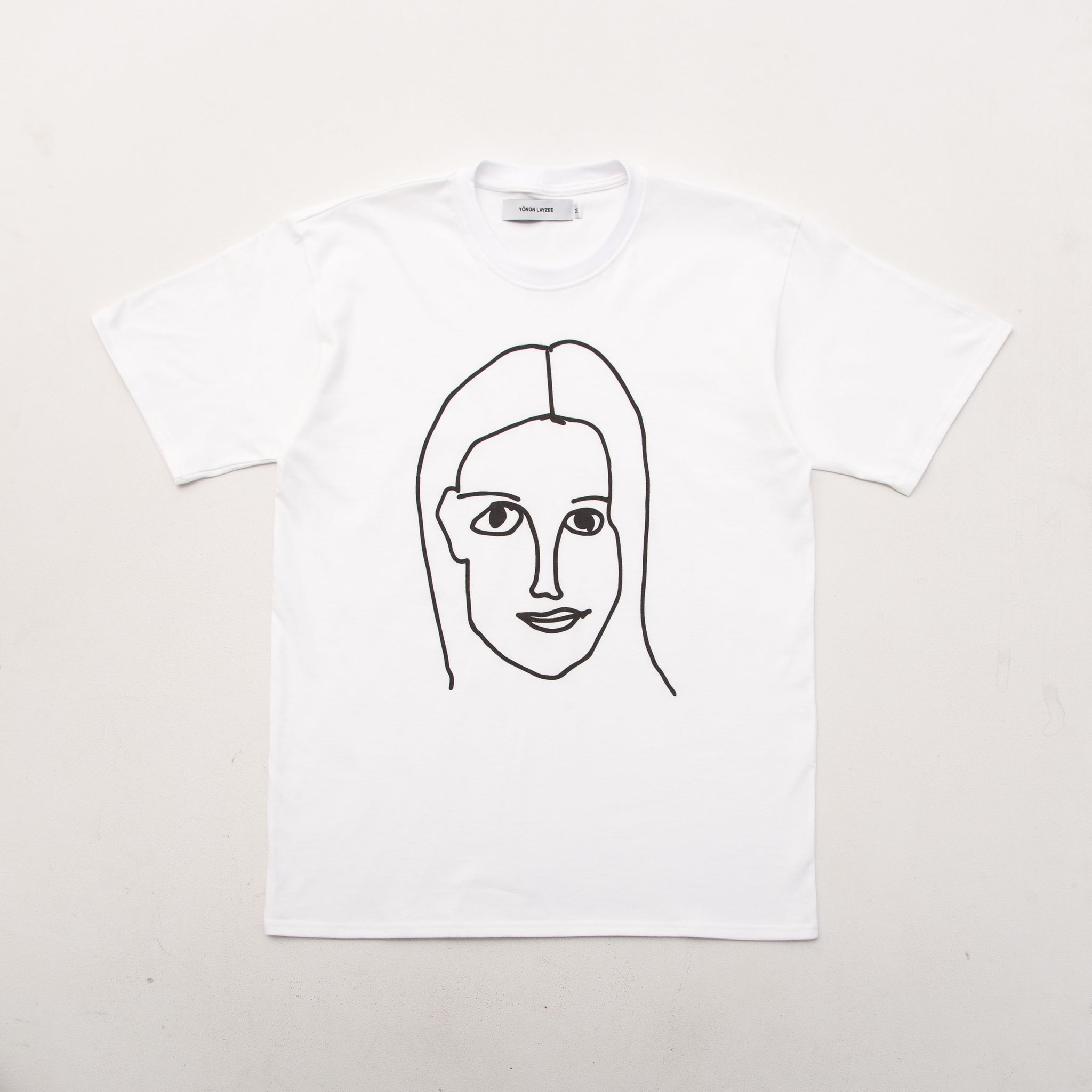 Girl Face - White - A Store
