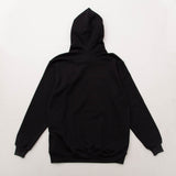 Young & Lazy Signature Hoody - Black - Back | A Store