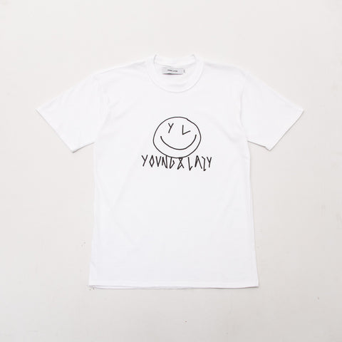 Smiley Tee - White