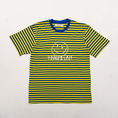 Striped Smiley Tee - Yellow