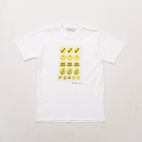 Space Spinach Tee - White