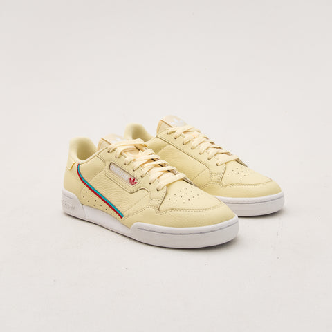 adidas Continental 80 Sneakers - Yellow AQ1054 | A Store