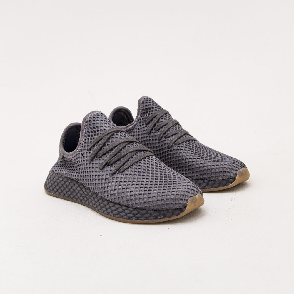 Deerupt Runner - Grey / Grey / Cloud White - A Store
