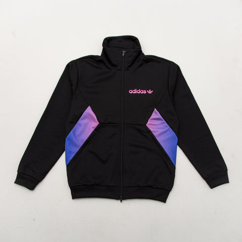 Degrade Track Top - Black - A Store