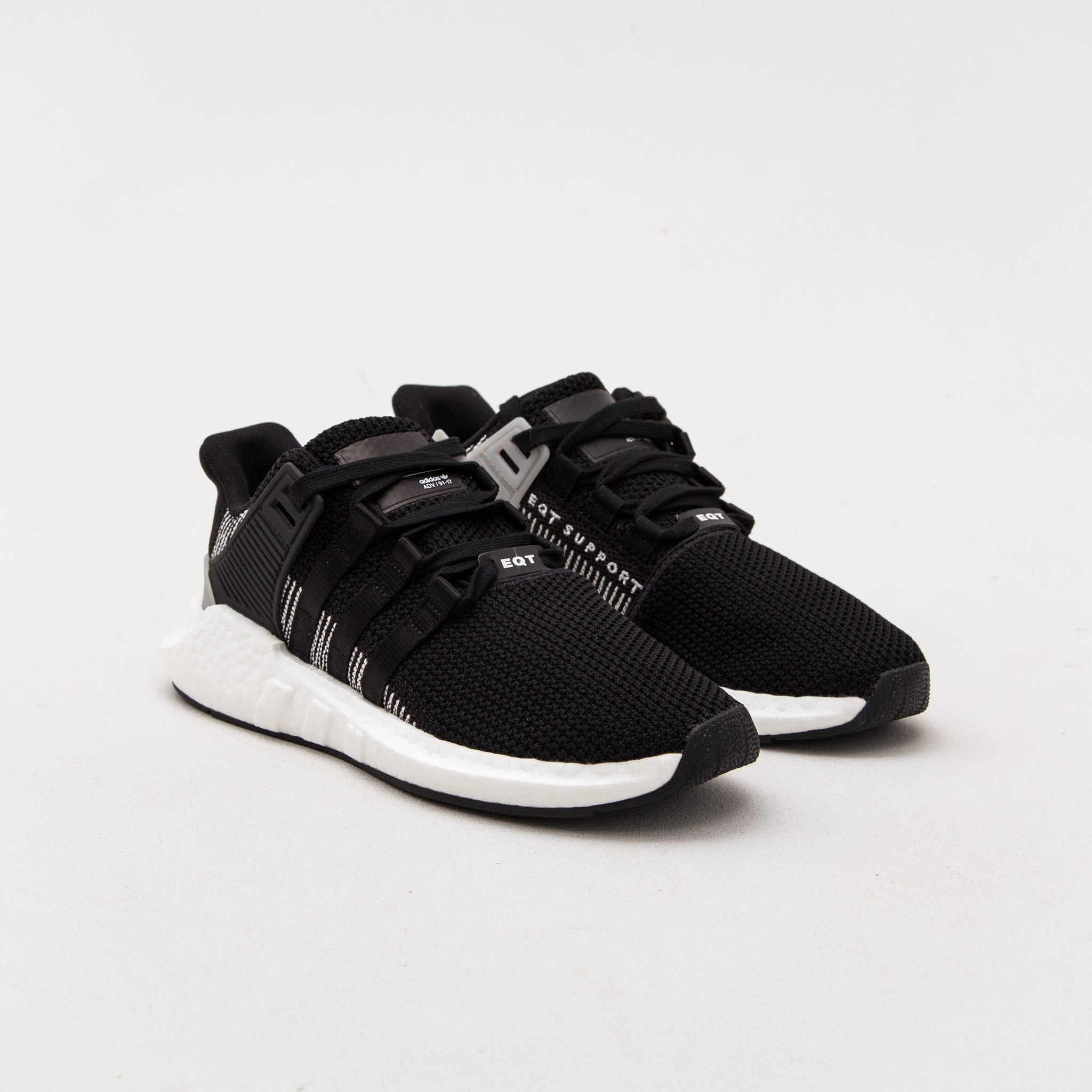 adidas EQT Support 93/17 Sneakers - Black BY9509 | AStore