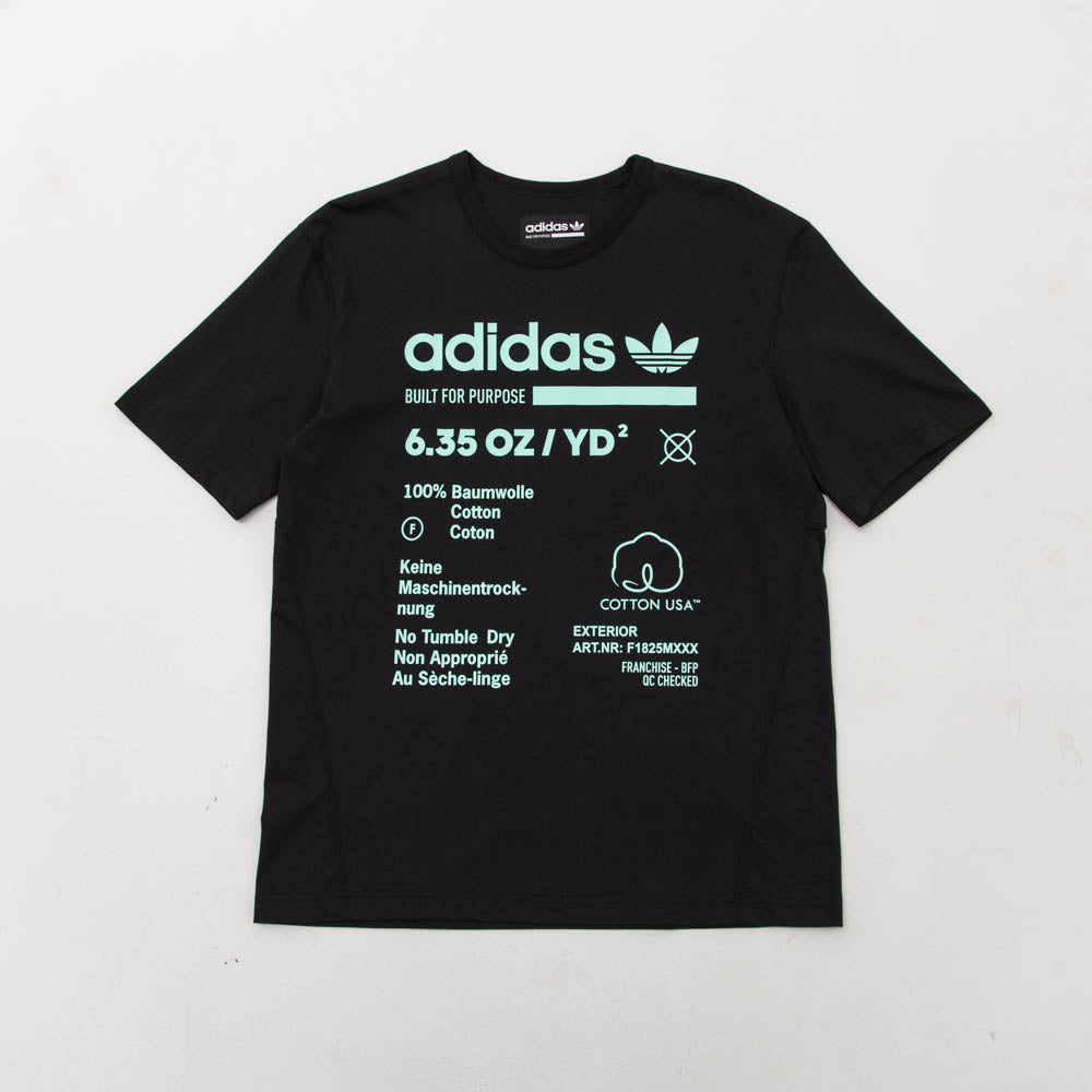 Kaval GRP Tee - Black / Clear Mint - A Store