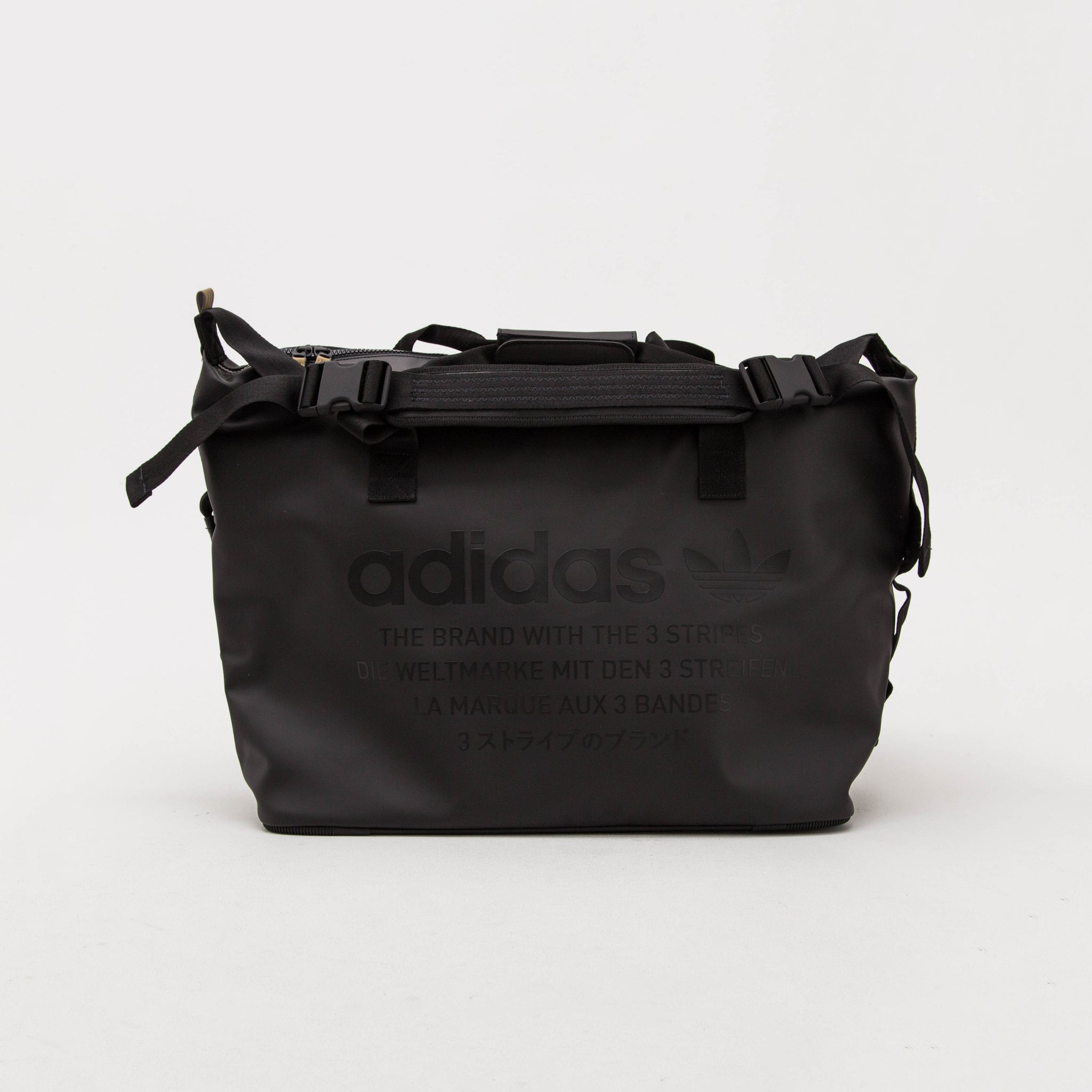 adidas NMD Duffle Bag - Black BR9159 - Front | AStore