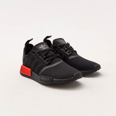 NMD_R1 - Core Black / Core Black / Lush Red - A Store