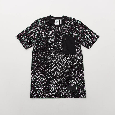 NMD Tee AOP - Black / White