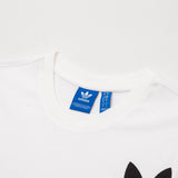 adidas Tribe Tee - White BS2233 - Neck | AStore