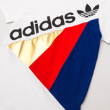 adidas Tribe Tee - White BS2233 - Chest Graphic | AStore