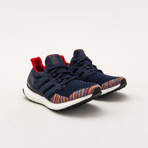 UltraBOOST LTD - Collegiate Navy / Collegiate Navy / Vivid Red