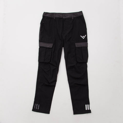 adidas White Mountaineering 6 Pocket Pants - Black BQ4094 - Front | AStore
