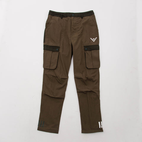 adidas White Mountaineering 6 Pocket Pants - Olive BQ4096 - Front | AStore