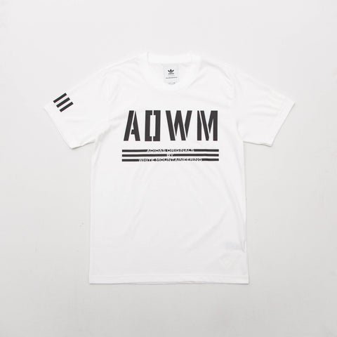 adidas White Mountaineering T Shirt - White BQ4107 - Front | AStore