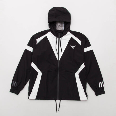 adidas White Mountaineering Windbreaker - Black BQ4069 - Front | AStore