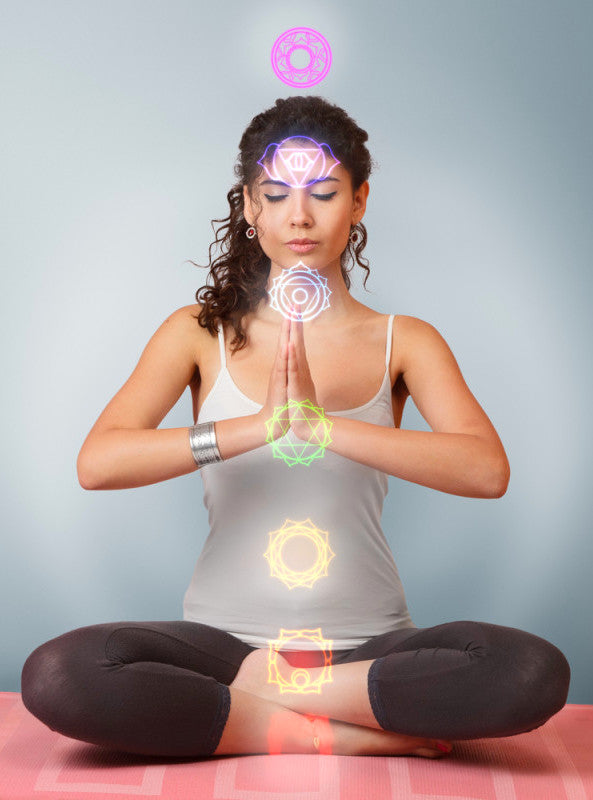 Chakra Balancing Aromatherapy Potions infused with Crystals