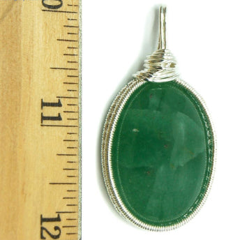 Everything_soulful_green_aventurine_pendant_cabochon