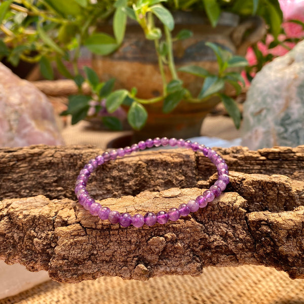 Intuition and Spirituality Bracelet: Amethyst