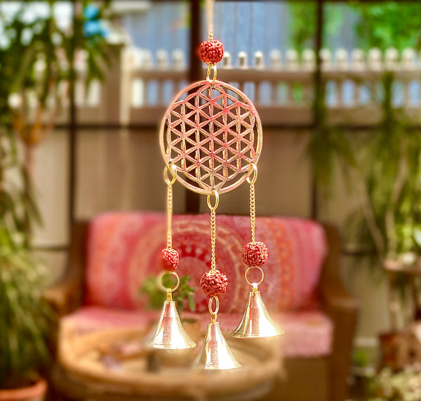 Connection and Compassion: Flower of Life Chime