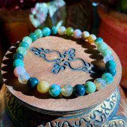 Go With The Flow Bracelet: Ocean Jasper (2 Sizes)