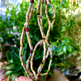 Good Karma and Protection Tulsi Bead Necklace from India