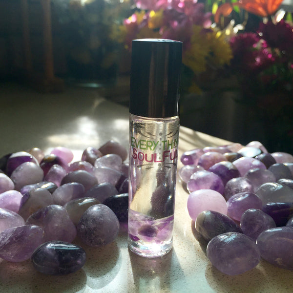 BLISS Infused with Amethyst Crystal Aromatherapy Potion