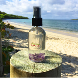 BLISS Infused with Amethyst Crystal Natural Spritzer