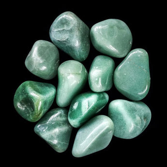 Green Aventurine: Prosperity and Opportunity Tumbled Stone