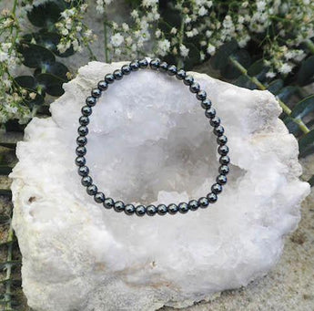 Grounding and Protection: Hematite Bracelet